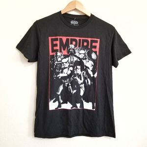 NWT Star Wars Empire Graphic T Shirt M